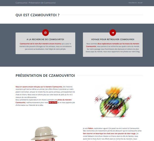 site web Czamouvrtoi.com