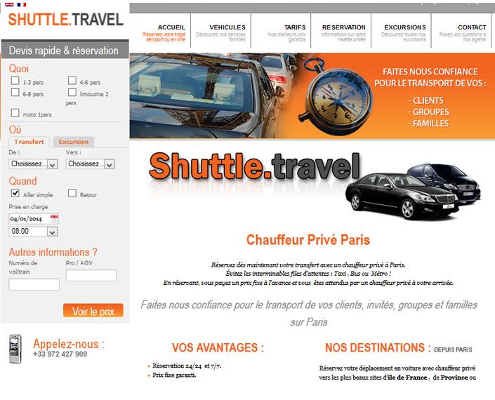 Shuttle Travel à Paris